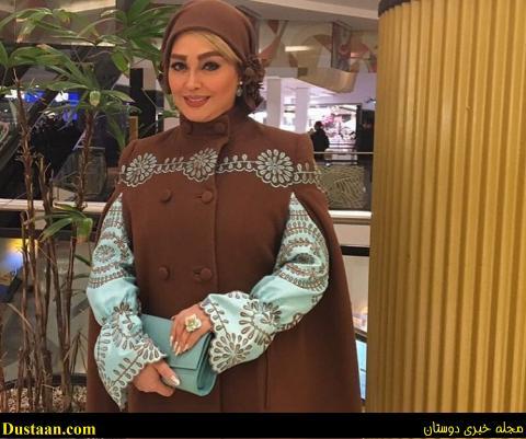 www.dustaan.com تیپ متفاوت ، الهام حمیدی در خارج از کشور! +عکس