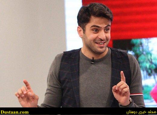www.dustaan.com علی ضیاء با یک حرکت عجیب در برنامه زنده، باز هم جنجال آفرید!
