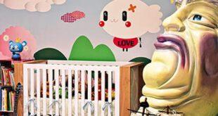 اتاق خواب های بسیار عجیب کودکان +تصاویر