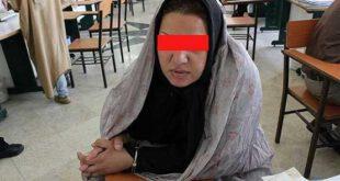 دستگیری زن تبهکار با ۵۰ فقره سرقت! +عکس
