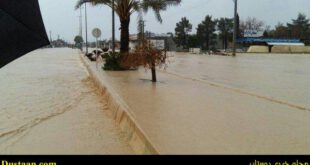 خسارت ۵۰ میلیارد تومانی سیل در شهرستان جهرم