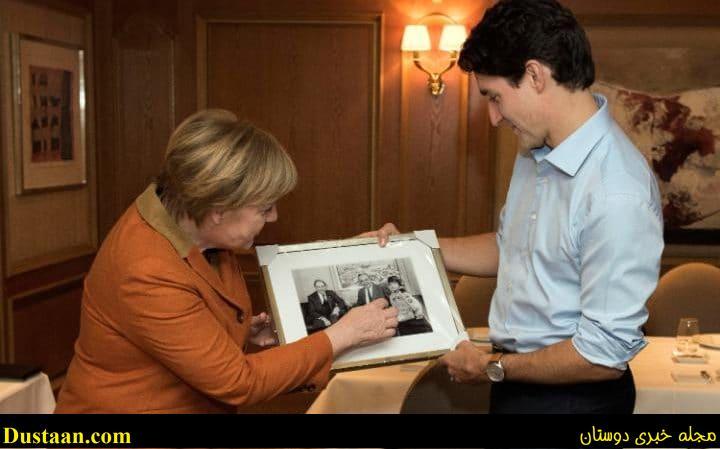 وقتی ایوانکا ترامپ مجذوب زیبایی نخست وزیر کانادا می شود!  +تصاویر