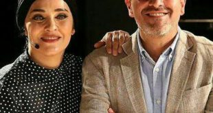 عکس: حجاب خاص رویا نونهالی در کنار همسرش رامین حیدری