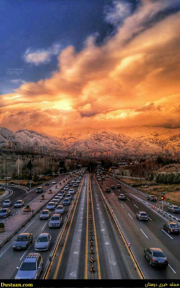 www.dustaan.com تصویری بسیار دیدنی از تهران!