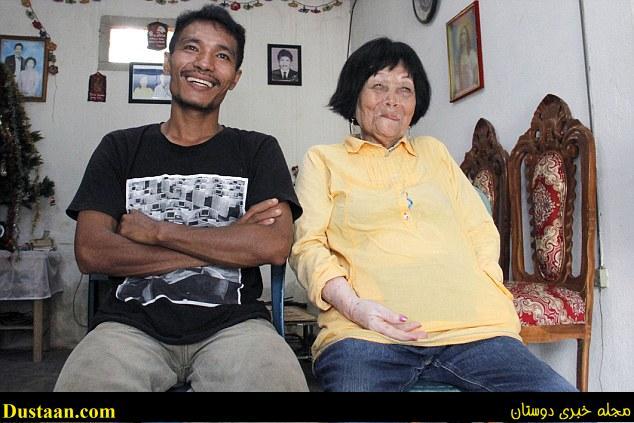 www.dustaan.com ازدواج عجیب پسر جوان با یک پیرزن ۸۲ سوژه رسانه ها شد! +تصاویر