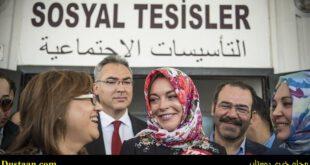 کشف حجاب بازیگر زن به درخواست مسئولان فرودگاه لندن! +عکس