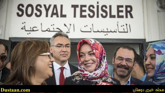 www.dustaan.com کشف حجاب بازیگر زن به درخواست مسئولان فرودگاه لندن! +عکس