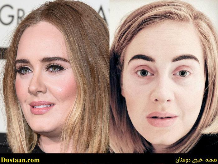 www.dustaan.com زنان زیبا ی جهان را بدون آرایش ببینید! +تصاویر