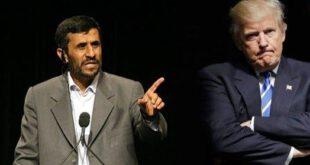 پاسخ فوری دونالد ترامپ به نامه احمدی نژاد +عکس