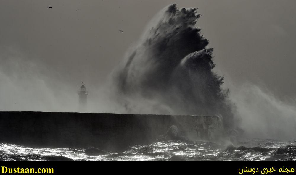 www.dustaan.com عکس: طوفان سهمگین « دوریس» از نمایی زیبا
