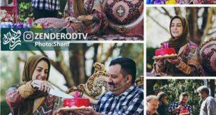وقتی مهراب قاسم خانی ، همسرش را در برنامه زنده غافلگیر می کند! +تصاویر