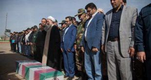 گزارش تصویری : تشییع پیکر شهید گمنام در کرمانشاه