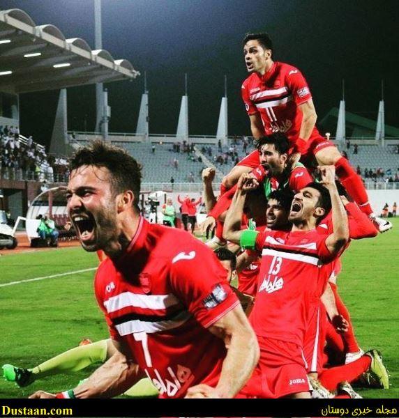 www.dustaan.com عکس زیبای پرسپولیسی ها در لیگ قهرمانان آسیا که جاودانه شد!