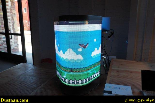 www.dustaan.com باورتان می شود این سطل زباله یک کنسول بازی باشد؟! +عکس