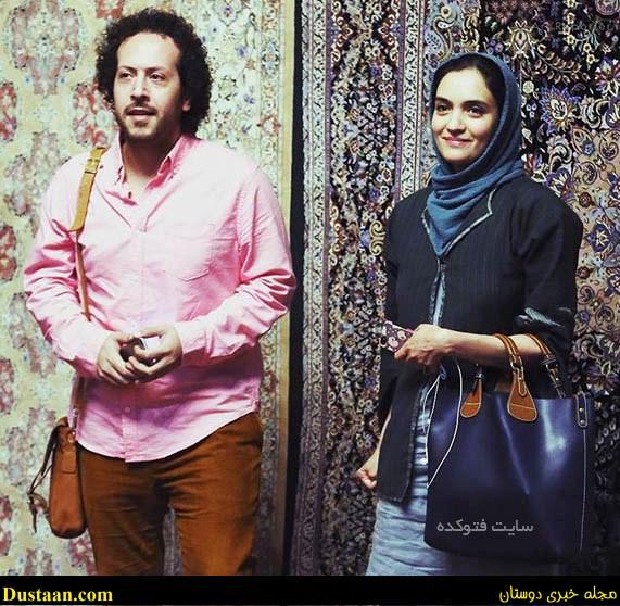 www.dustaan.com سینا حجازی و همسرش میترا حجار