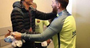 وقتی مسی امضا می گیرد! +تصاویر