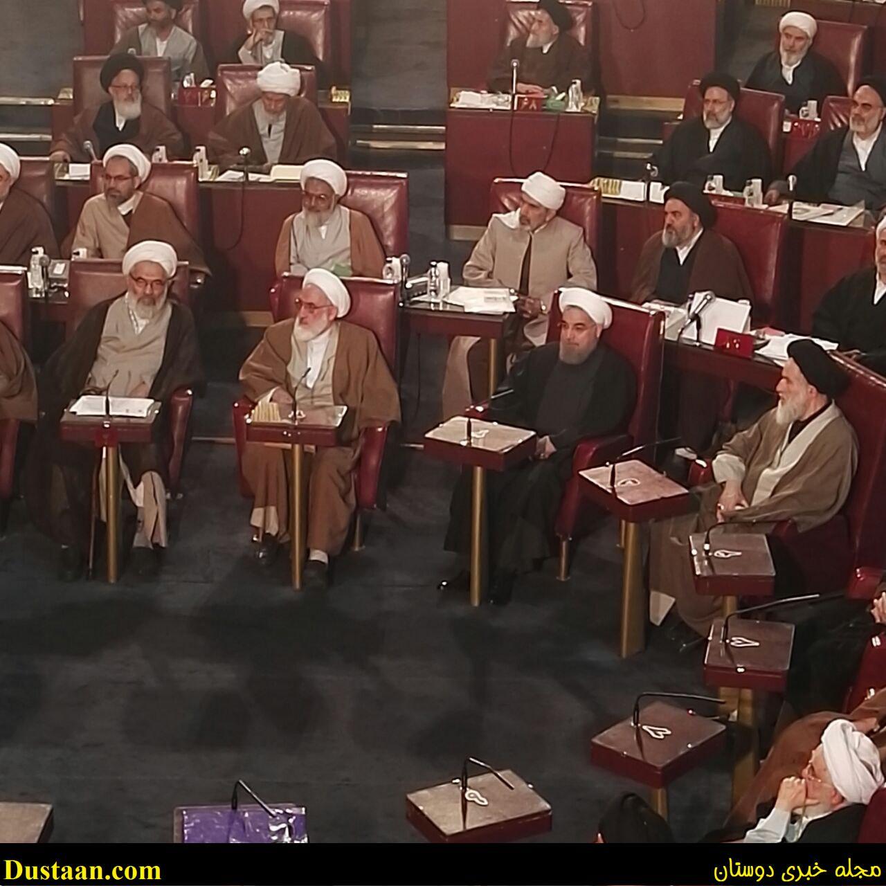 www.dustaan.com-dustaan.com-حضور روحانی در اجلاسیه خبرگان/عکس