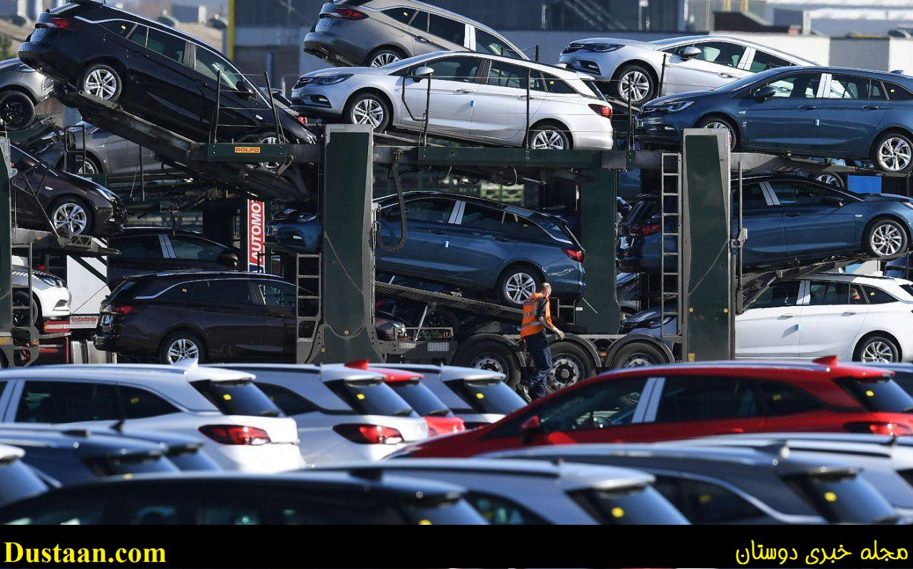 عکس: پارکینگ خودروهای لوکس اپل