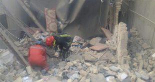 انفجار منزل مسکونی در منطقه بلوار دوم مشهد +تصاویر
