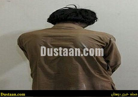 www.dustaan.com دستگیری سارق مسلح موتورسیکلت ها در شهرستان سروان