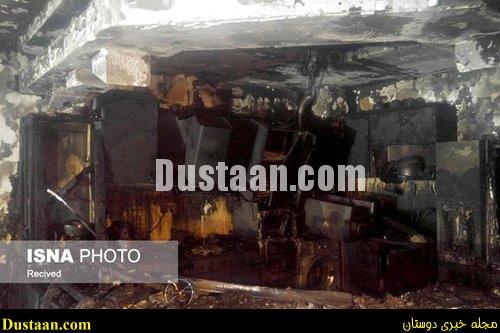 www.dustaan.com-dustaan.com- اخبارحوادث ,خبرهای حوادث ,حریق ساختمان در مشهد