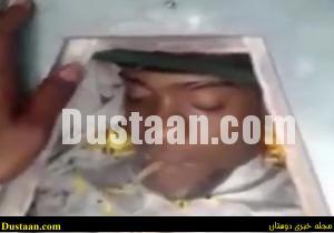 www.dustaan.com عکس: مرد مرده ای که سیگار می کشد!