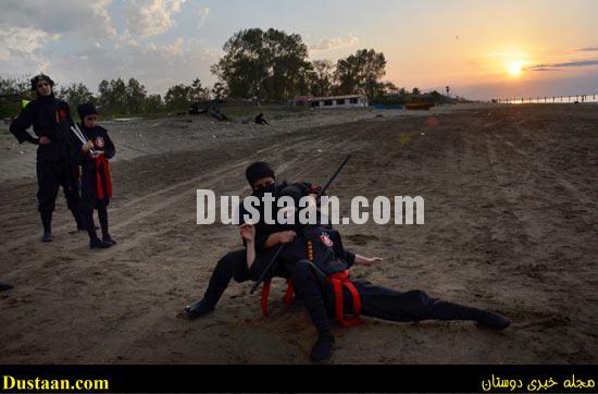 www.dustaan.com - فیلم: دختران سوپر نینجای ایرانی! +تصاویر