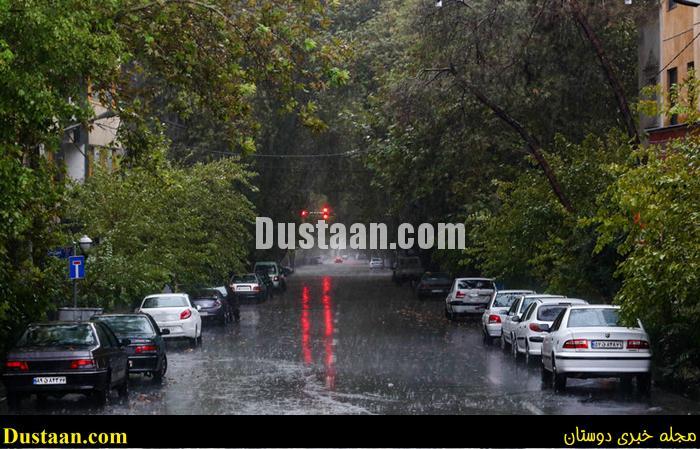 www.dustaan.com هوای پایتخت امشب بارانی می شود