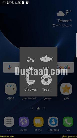 www.dustaan.com ترفندهای اندروید؛ فعال سازی گربه های مخفی شده در اندروید