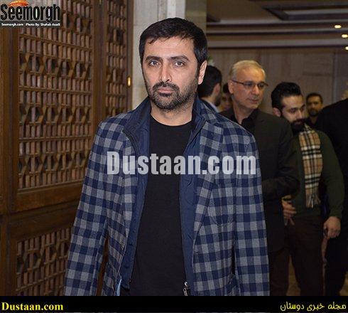 www.dustaan.com چهره های حاضر در مجلس ترحیم علی معلم +تصاویر