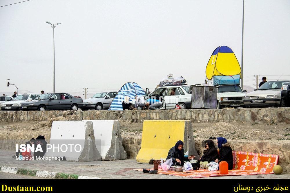 www.dustaan.com-dustaan.com-ترافیک سنگین جاده ها در آغاز دور اول سفرهای نوروزی/تصاویر