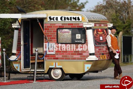 www.dustaan.com عکس: کوچکترین سینمای جهان با 8 نفر ظرفیت!