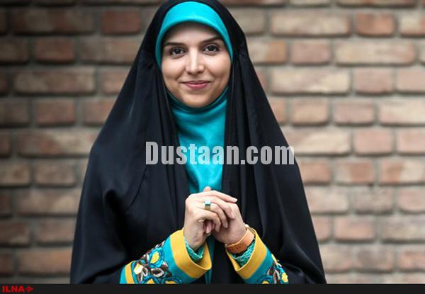 www.dustaan.com خانم مجری: حاضرم مقابل فراستی بنشینم