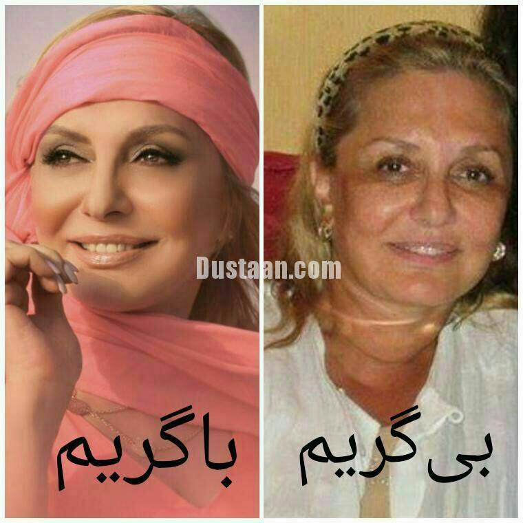 www.dustaan.com چهره بدون ارایش گوگوش، شما را شوکه می کند! +تصاویر