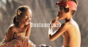 زندگی شاد کودکان با وجود فقر +تصاویر