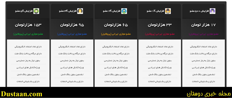 کانال تلگرام فروش اینترنتی