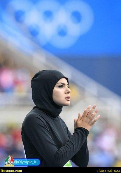 خوردن محجبه دختر محجبه عربستان در دوی ۱۰۰ متر المپیک + عکس - مجله ...