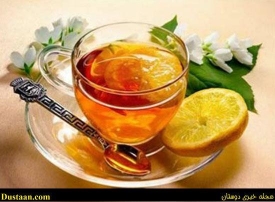طرز تهیه چای لیمو و نعناع ؛ درمان نفخ معده