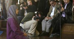 نماز جماعت به امامت یک زن! +عکس