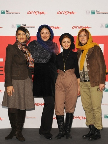 www.dustaan.com تصاویری متفاوت از بازیگران زن ایرانی در جشنواره رم