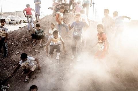 www.dustaan.com تصاویر  آوارگان سوری در عراق