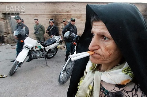 www.dustaan.com تصاویر / طرح جمع آوری معتادان