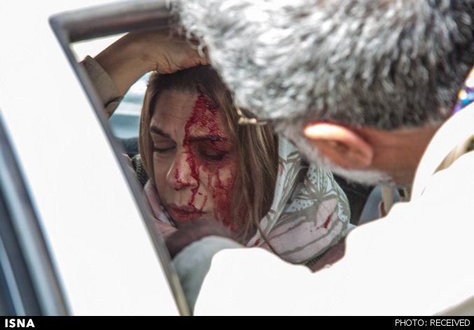 www.dustaan.com انتشار اولین عکس از گوهر خیراندیش پس از تصادف