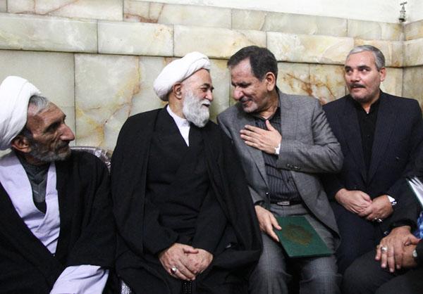 www.dustaan.com گزارش تصویری مجلس ترحیم عسگراولادی در مسجد ارگ