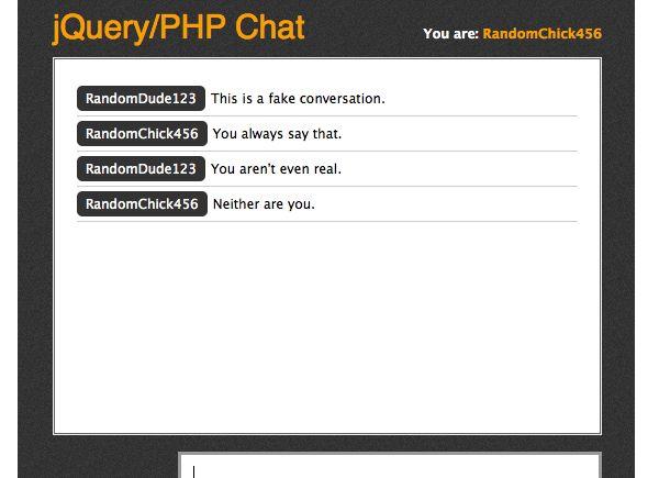 www.dustaan.com اسکریپت بسیار کم حجم و ساده برای راه اندازی اتاق چت به زبان jQuery/PHP