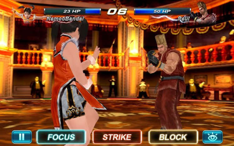 www.dustaan.com بازی زیبا و خاطره انگیز  Tekken Card Tournament 1.502