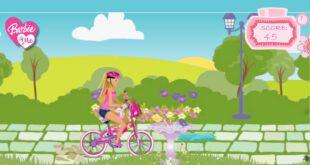 بازی انلاین دوچرخه سواری دخترانه!