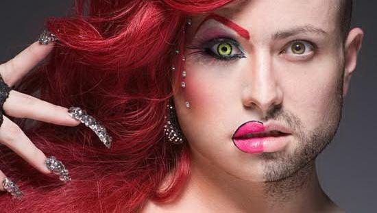 www.dustaan.com اگر مردها آرایش میکردند،چه شکلی میشدند؟ (تصاویر)