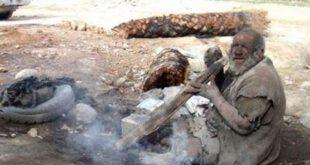 پیرمردی که نزدیک 100 سال میشه که رنگ حموم رو به خودش ندیده! + عکس