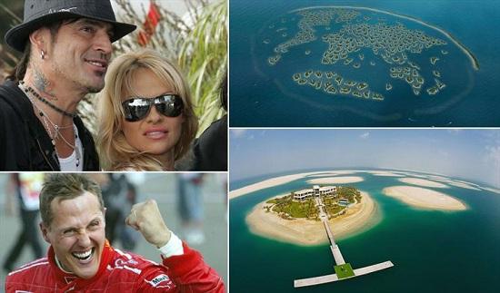 www.dustaan.com تصاویری از جزایر اختصاصی پولدارهای معروف!